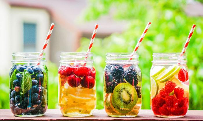 infusiones de frutas