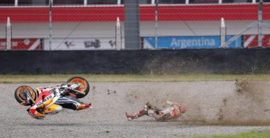marc marquez accidente