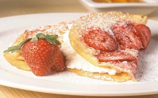 panqueque fresas