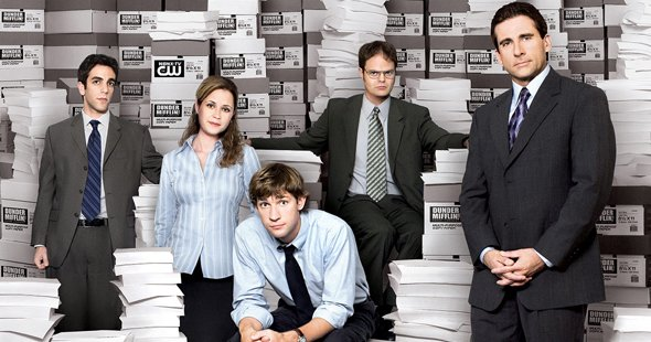 personajes the office