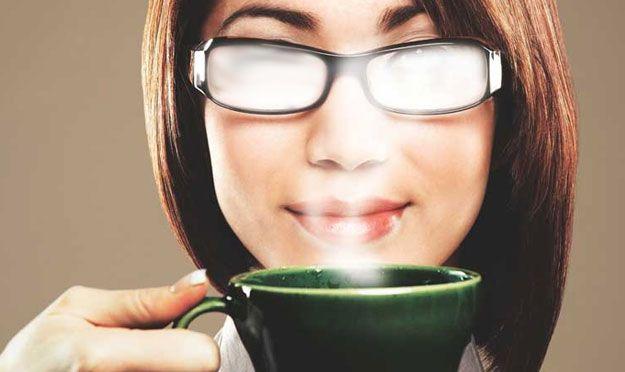lentes empañadas