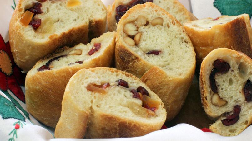 pan con fruta