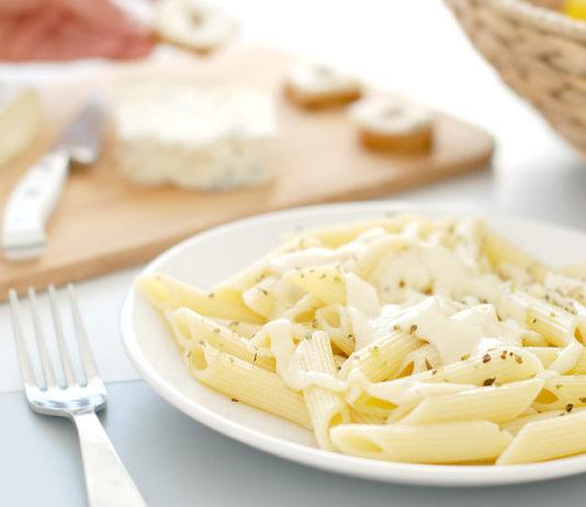 salsa blanca macarrones