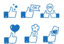 thumbs up facebook