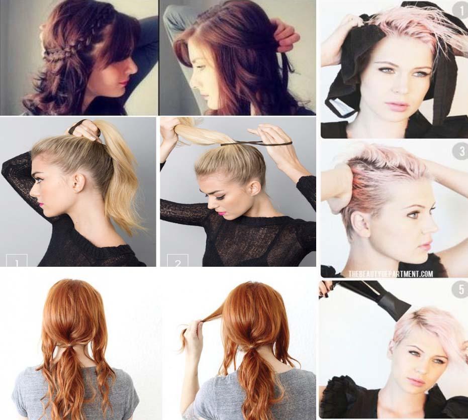 Peinados faciles para chicas