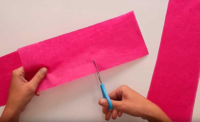 cortando papel