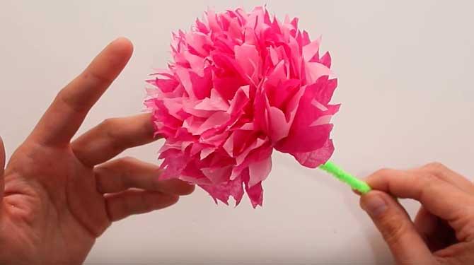Como Hacer Flores De Papel Paso A Paso Consejo Al Dia - Hacer-flores-con-papel