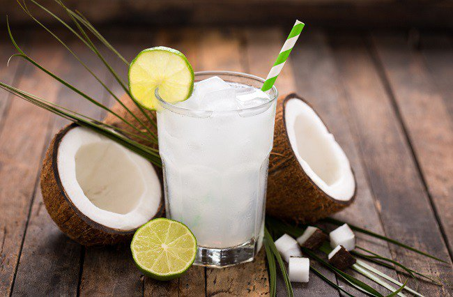 zumo de coco