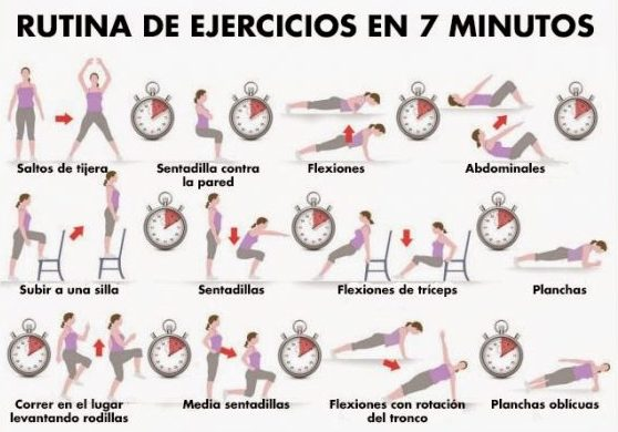 rutina ejercicios varios