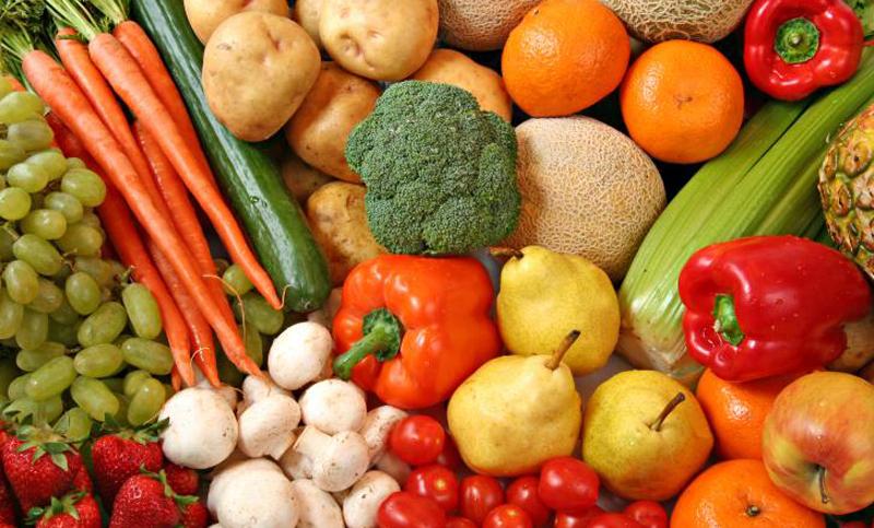 comida sana fruta