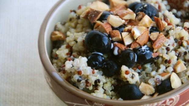 arandanos con quinoa
