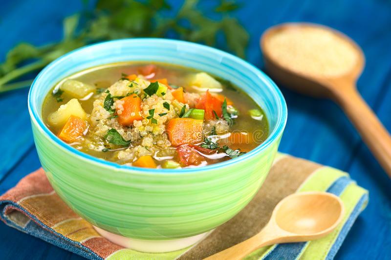 verduras y quinoa