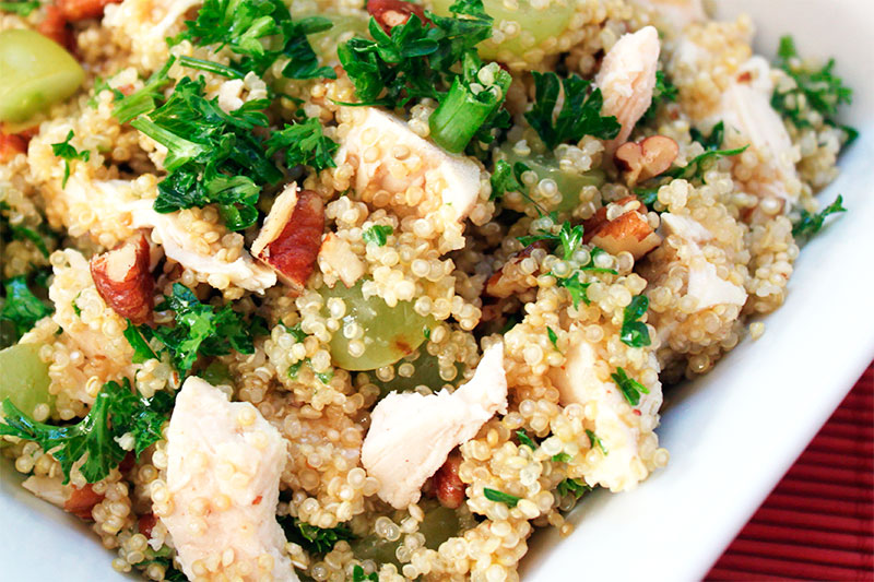 receta facil quinoa
