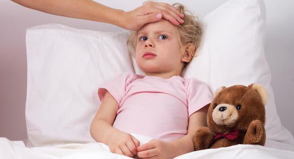 niña fiebre