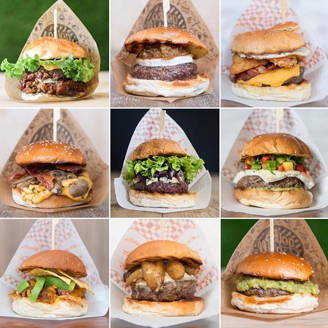 variedad hamburguesas