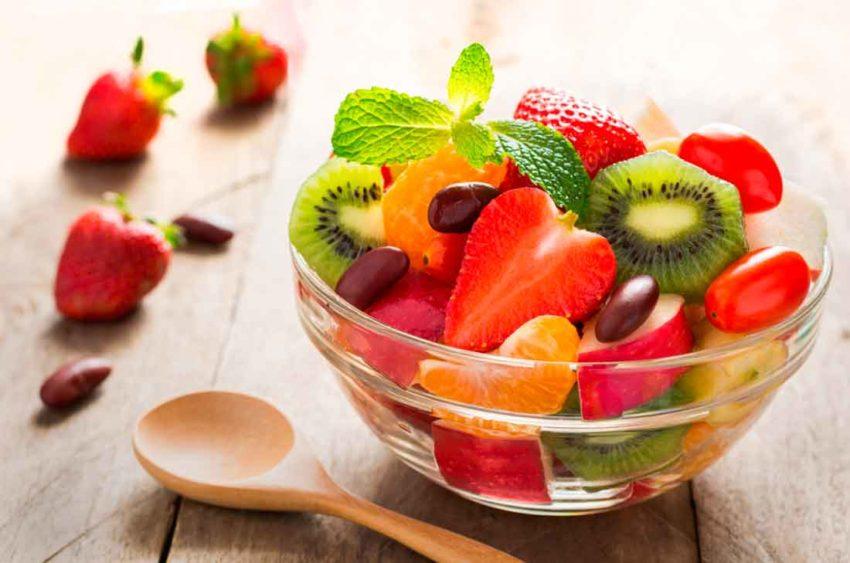 mascarilla frutas