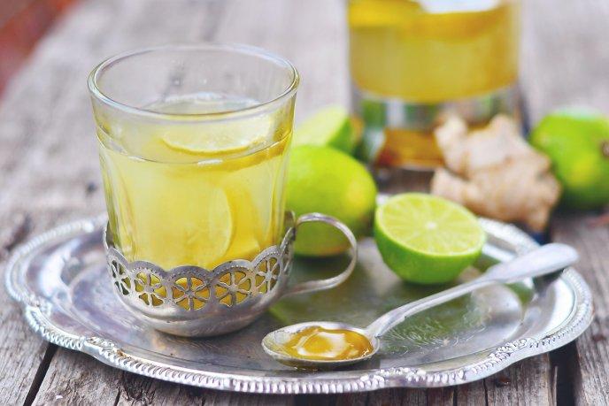 infusion limon y miel