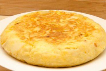 tortilla al microondas