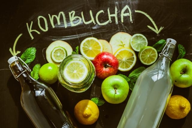 ingredientes kombucha