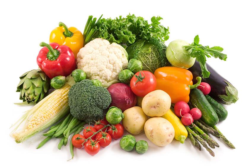 antioxidantes verduras
