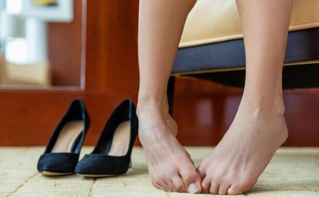 tacones dolor de pie